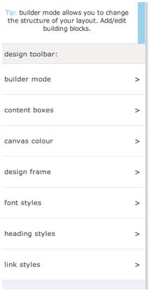 HTML design bar