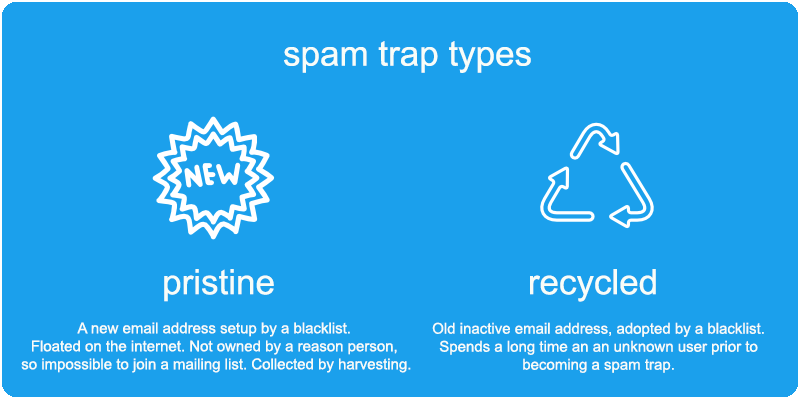Different Spam Trap Types
