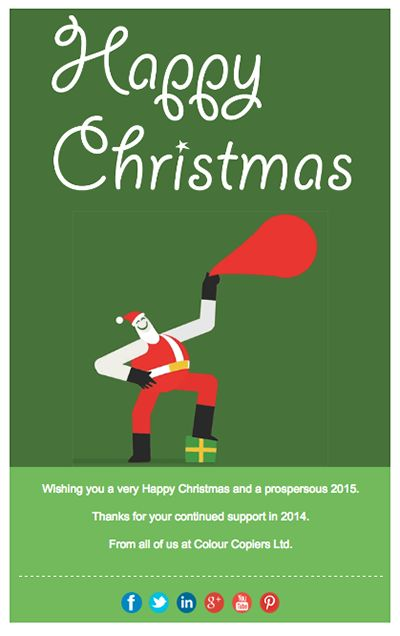 christmas email design templates free
