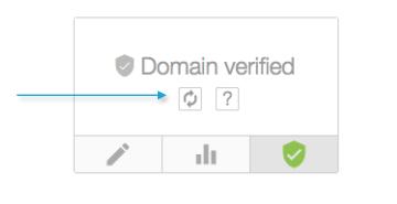 Check domain verification