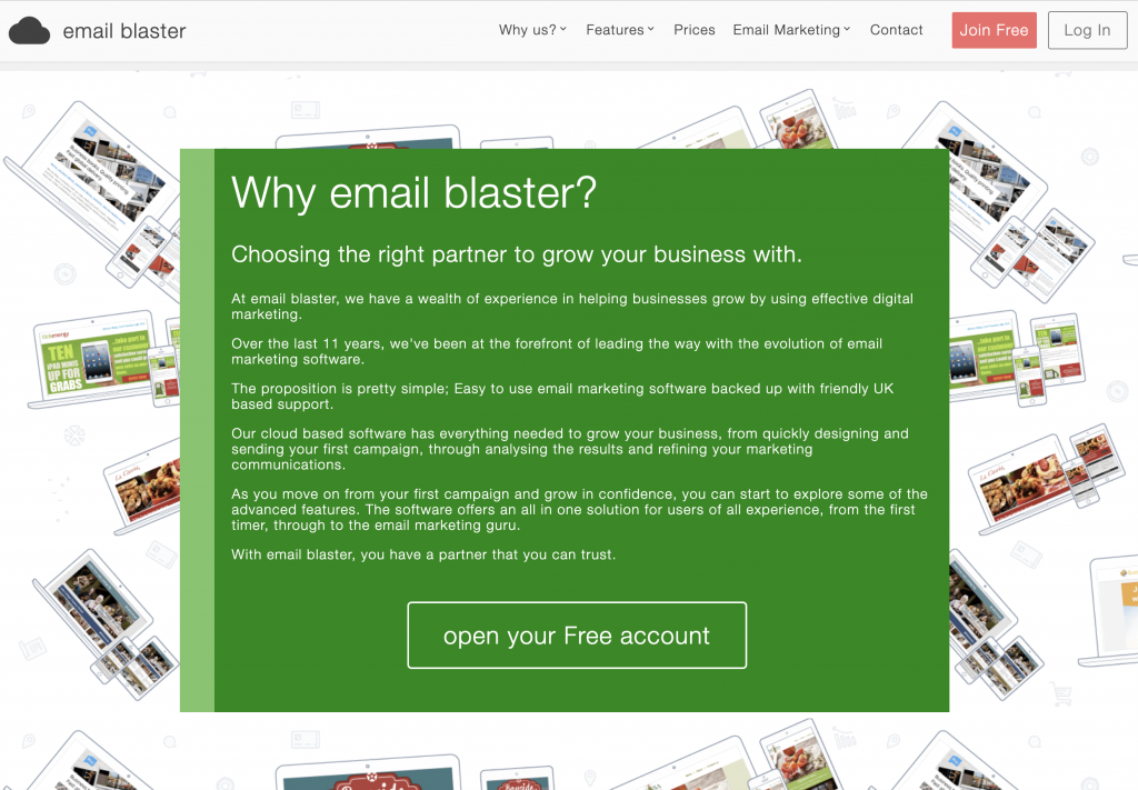 why email blaster